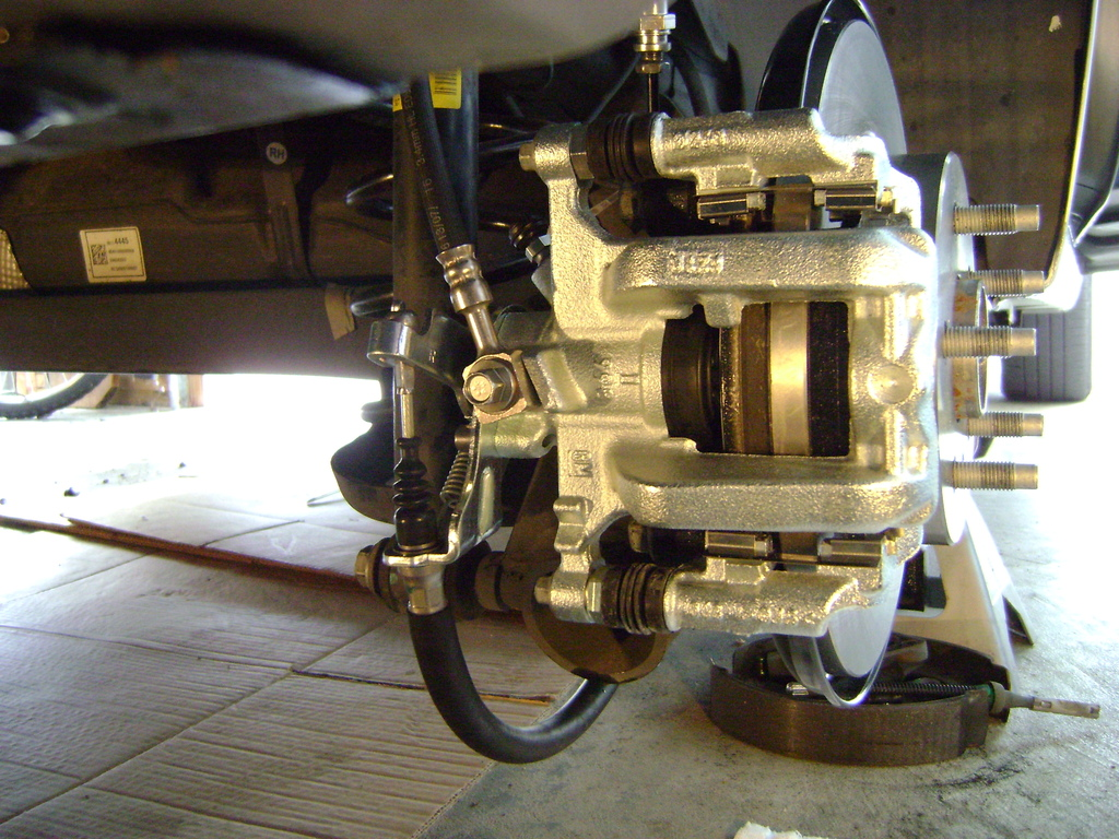 Drum to RS rear disc conversion - Chevy Sonic Owners Forum